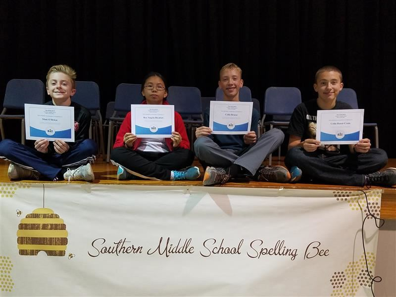 Southern Middle School Students Qualify for Regional Spelling Bee