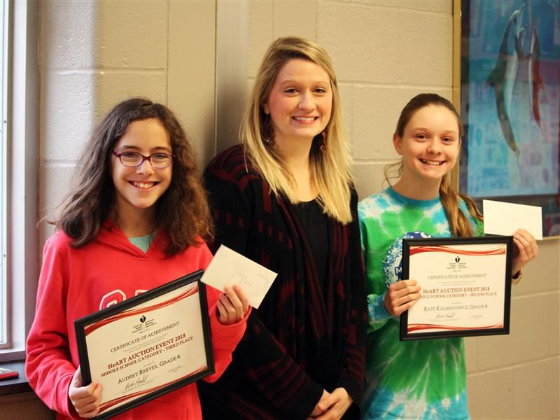 Southern Elementary School Students Earn Recognition in American Heart Association Art Contest