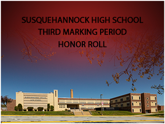 Susquehannock High School Releases Honor Roll for the Third Marking Period 2020-21