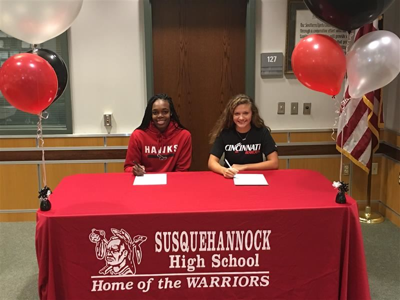 Susquehannock High School Athletes to Play NCAA Division I Athletics