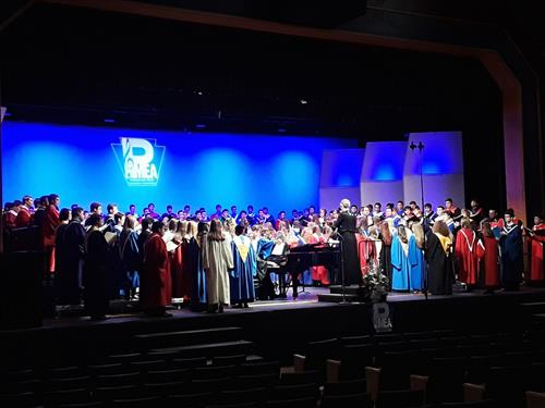 Susquehannock Students Advance to Pennsylvania Music Educators Association Region V Chorus