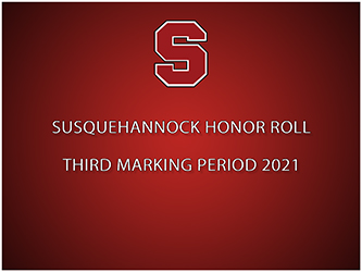 Susquehannock High School Releases Honor Roll for the Second Marking Period 2020-21