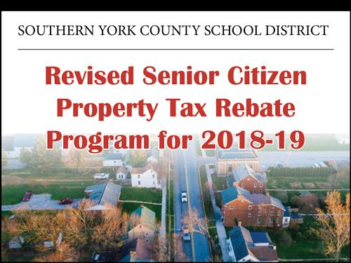 Warrior Chat: Revised Senior Citizen Property Tax Rebate Program for 2018-19