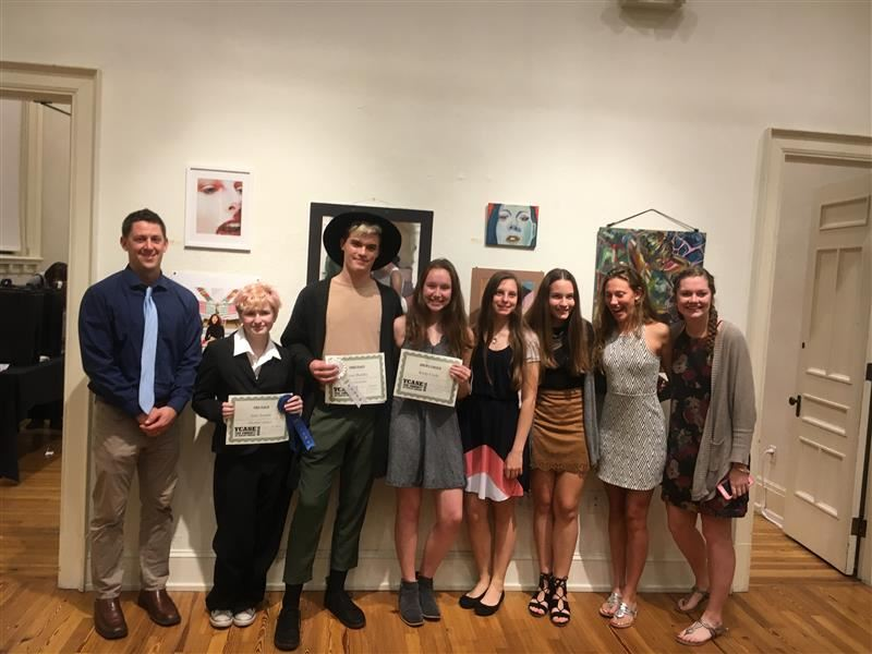 Susquehannock High School Students Selected Into the York Community Arts Scholars Finalist Exhibition