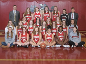 Warrior Girls Basketball Team Qualifies for District III Championships